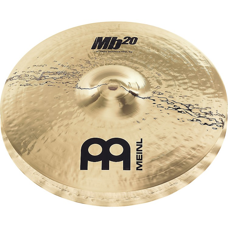 Meinl Mb20 Heavy Soundwave Hi-Hat Cymbals 14 in.
