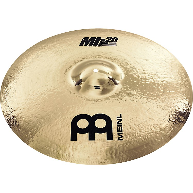 Meinl Mb20 Pure Metal Ride Cymbal 24 in.