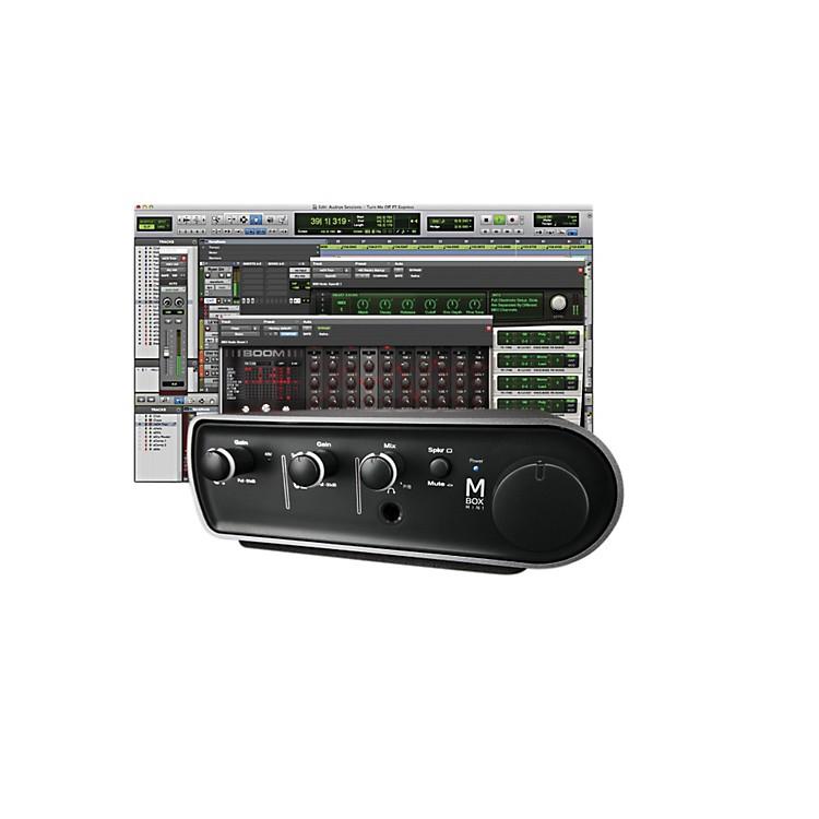 AvidMbox 3 Mini and Pro Tools Express