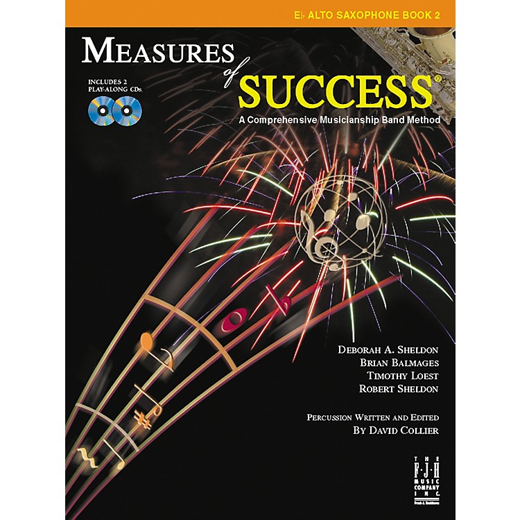 FJH MusicMeasures of Success E-flat Alto Saxophone Book 2