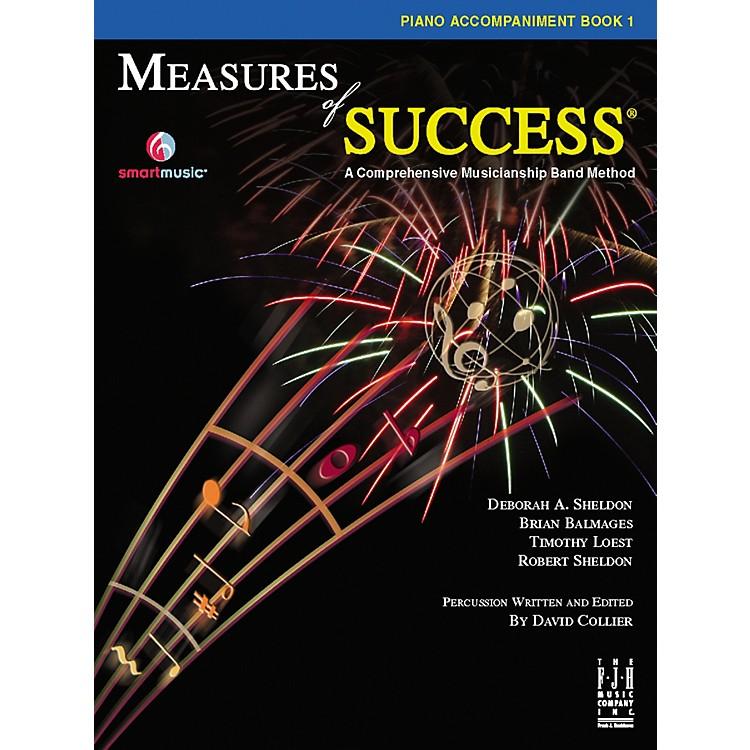 FJH MusicMeasures of Success® Piano Accompaniment Book 1