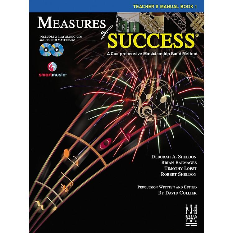 FJH MusicMeasures of Success Teacher's Manual Book 1