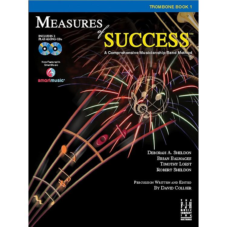 FJH MusicMeasures of Success Trombone Book 1
