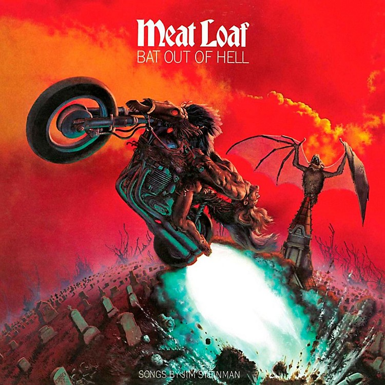 REDMeatloaf - Bat out of Hell LP