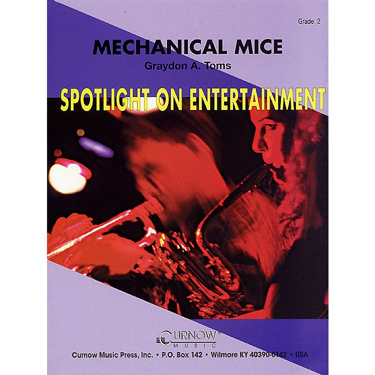 Curnow MusicMechanical Mice (Grade 2 - Score Only) Concert Band Level 2 Composed by Graydon Toms