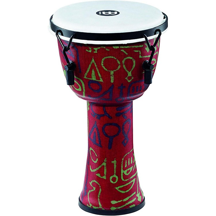 MeinlMechanically Tuned Djembe with Synthetic Shell and Head8 in.Pharaoh's Script