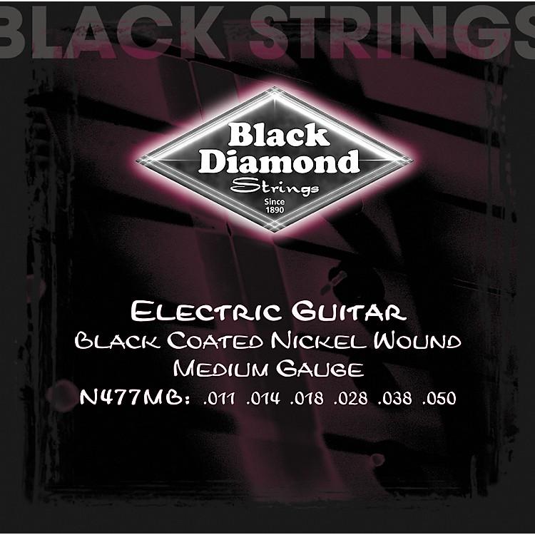 Black DiamondMedium Gauge Black Coated Nickel Electric Guitar Strings
