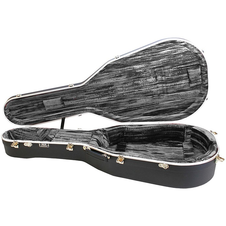 Hiscox Cases Medium Liteflite Artist Classical - Black Shell/Silver Interior