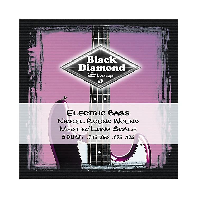 Black DiamondMedium Nickel Roundwound Long Scale Bass Strings
