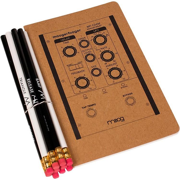 MoogMedium Notebook and Pencil Set (5X8)