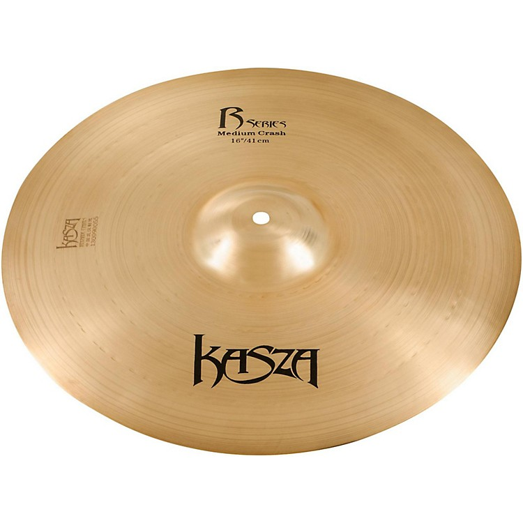 Kasza Cymbals Medium Rock Crash Cymbal 16 in.