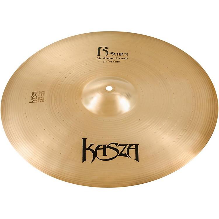 Kasza CymbalsMedium Rock Crash Cymbal17 in.