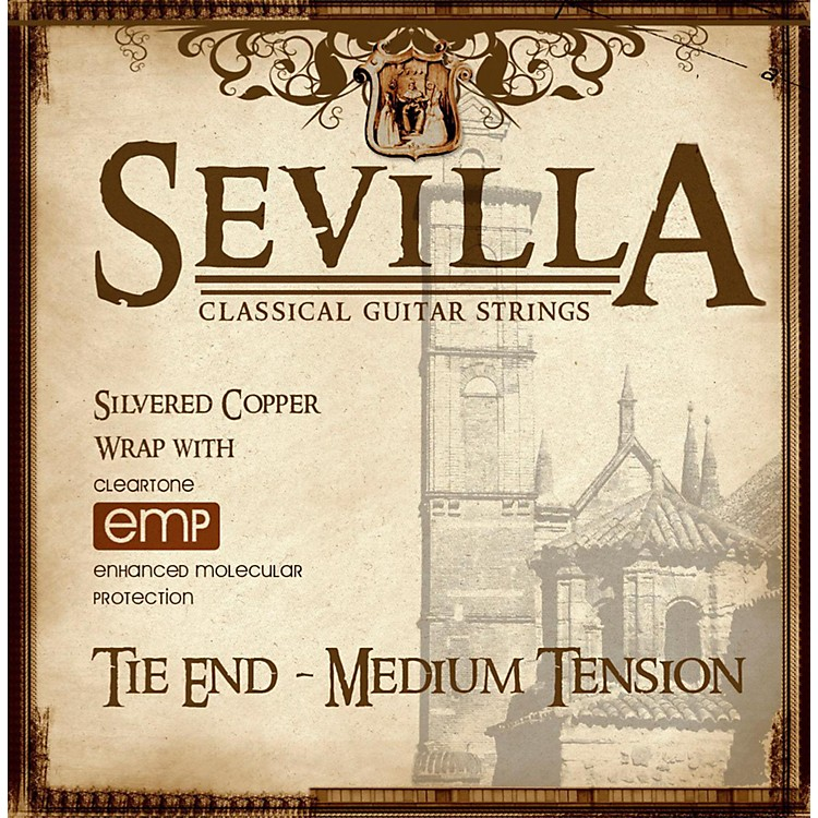 Sevilla Classical Guitar Strings Medium Tension Classical Tie-On Guitar Strings