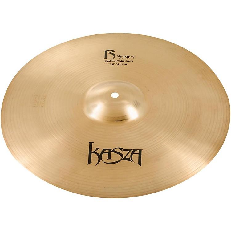 Kasza CymbalsMedium Thin Rock Crash Cymbal16 in.