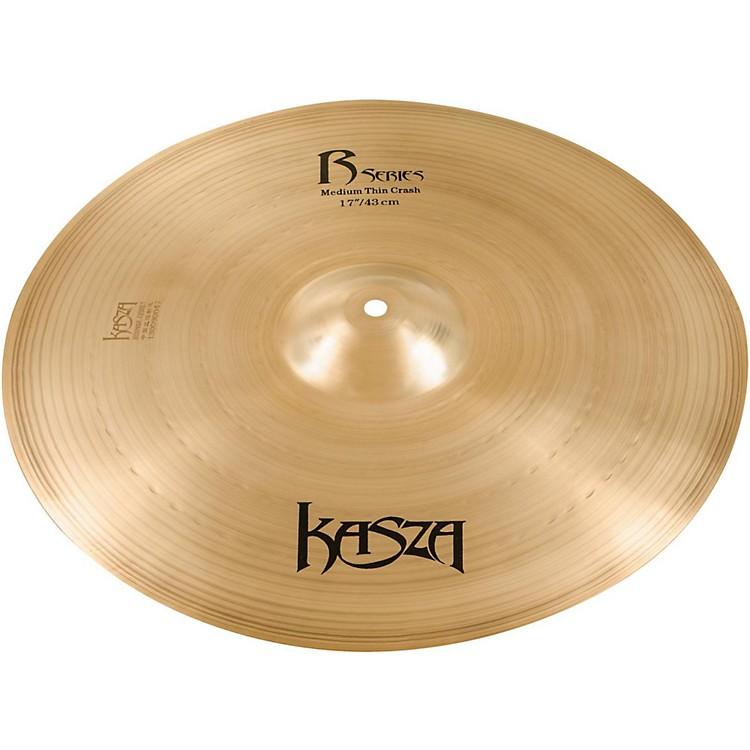 Kasza CymbalsMedium Thin Rock Crash Cymbal17 in.