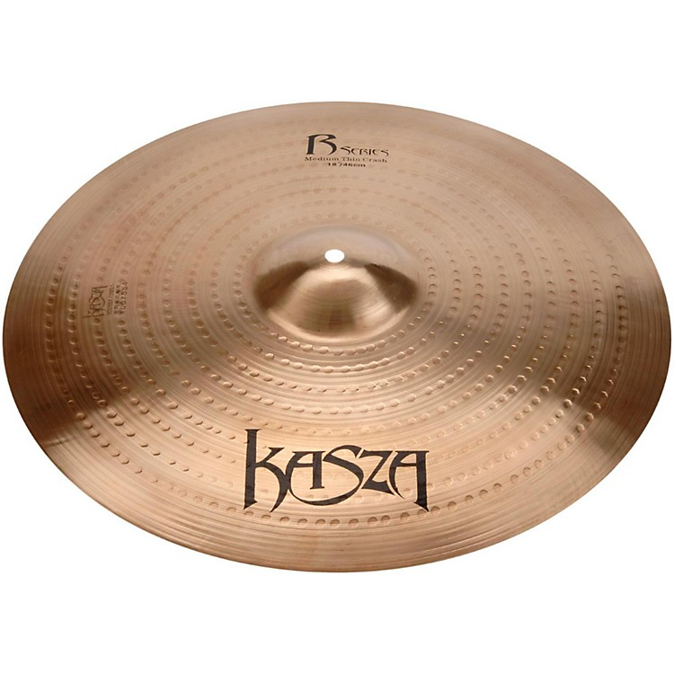 Kasza Cymbals Medium Thin Rock Crash Cymbal 18 in.