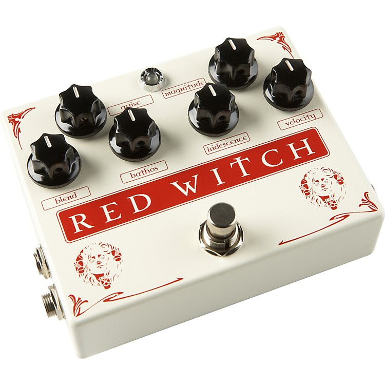 Red WitchMedusa Chorus and Tremolo Guitar Effects Pedal