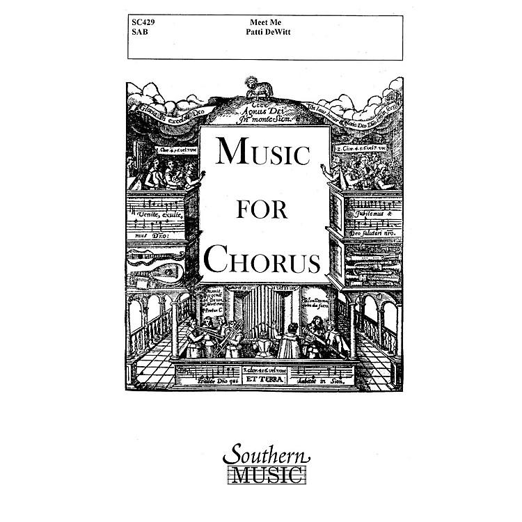 Hal LeonardMeet Me (Choral Music/Octavo Secular Sab) SAB Composed by Dewitt, Patti