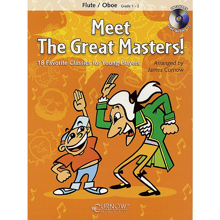 Curnow MusicMeet the Great Masters! (Flute/Oboe - Grade 1-2) Concert Band Level 1-2