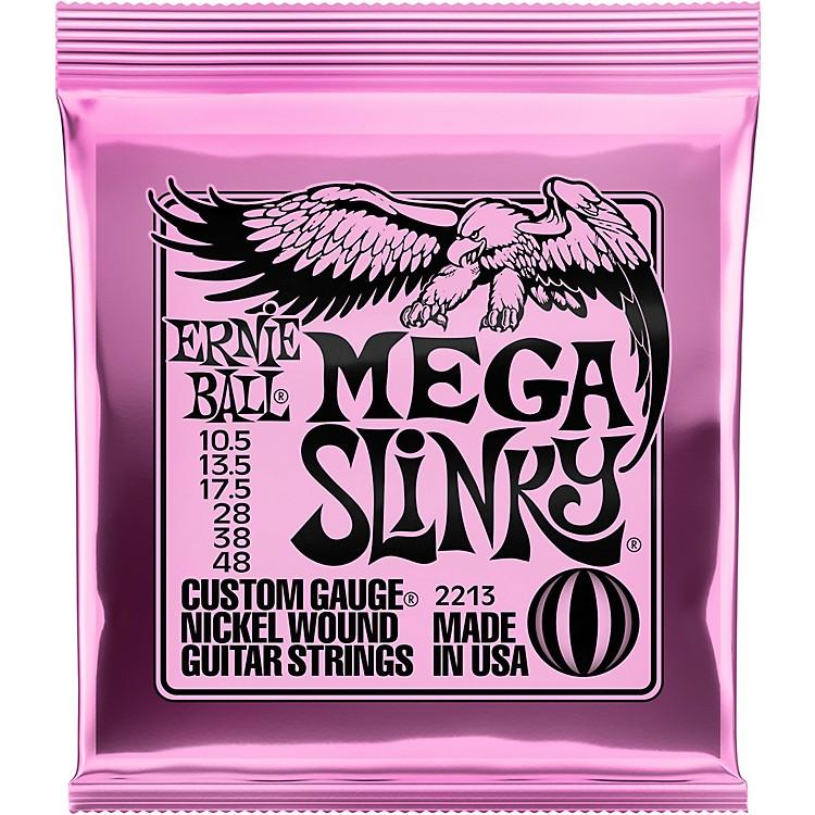 Ernie BallMega Slinky Nickel Wound Electric Guitar Strings - Gauge10.5 - 48