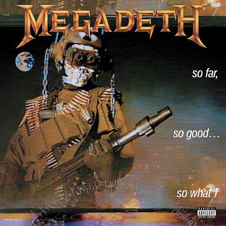 Universal Music Group Megadeth - So Far, So Good, So What