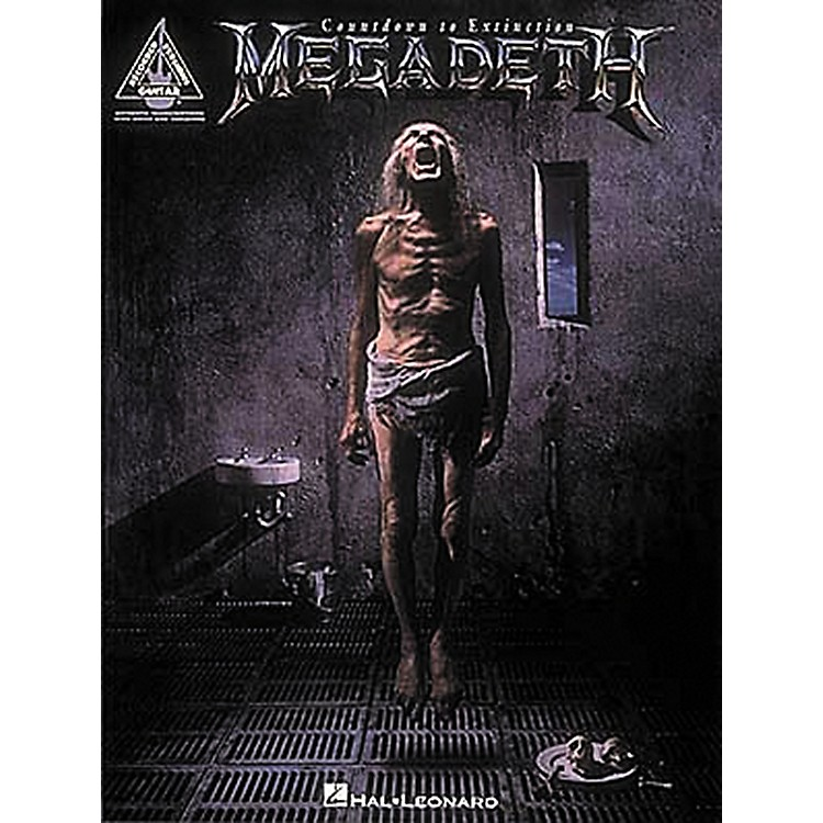 Hal Leonard Megadeth Countdown to Extinction Guitar Tab Songbook