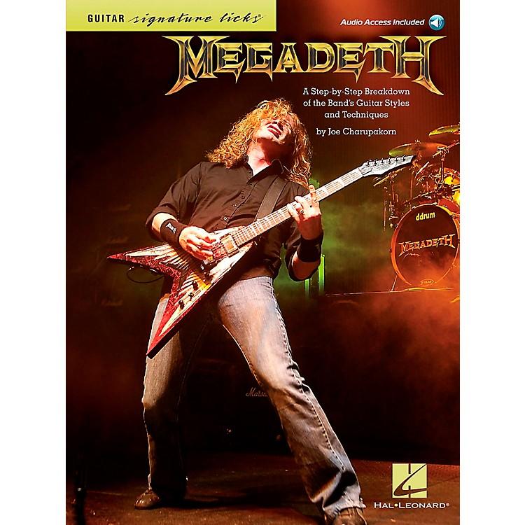 Hal LeonardMegadeth Guitar Signature Licks Book/CD