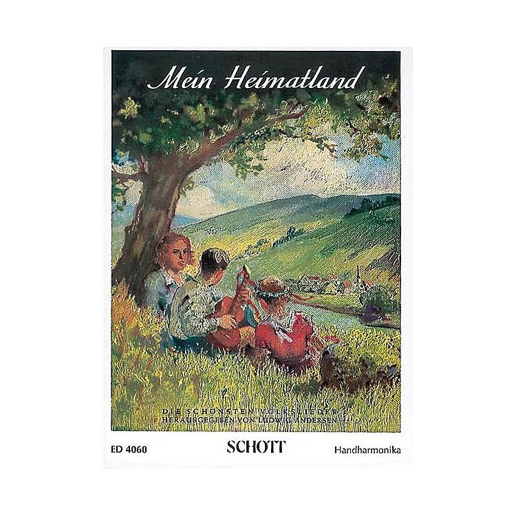 SchottMein Heimatland Harmonica Schott Series