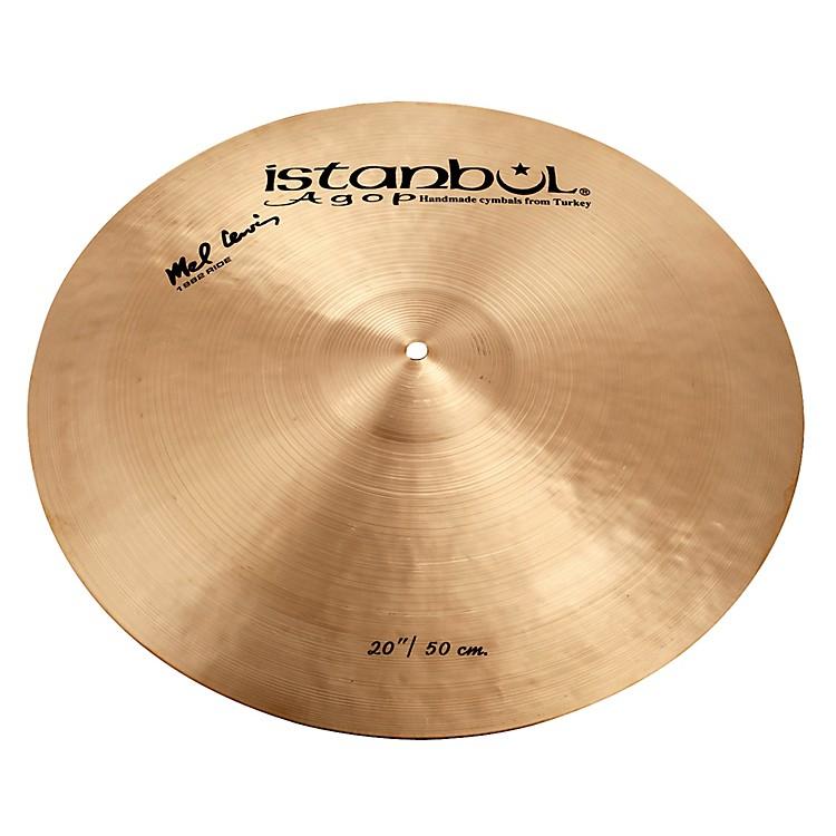 Istanbul AgopMel Lewis Ride Cymbal20 in.