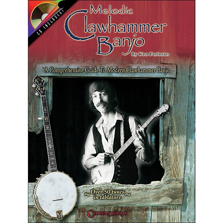 Centerstream Publishing Melodic Clawhammer Banjo Book/CD