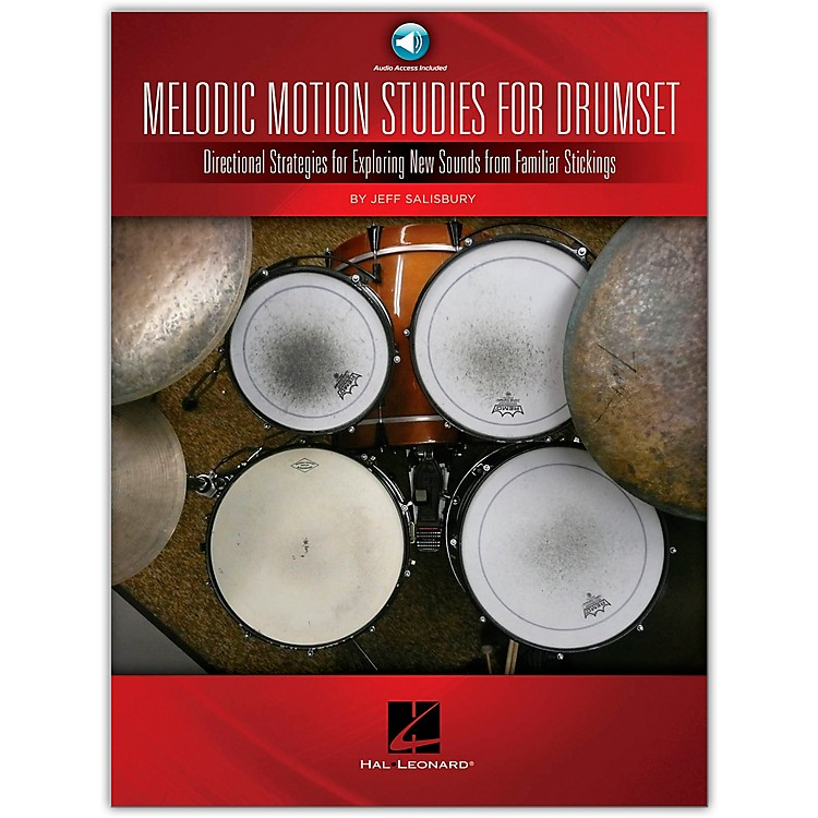 Hal Leonard Melodic Motion Studies for Drumset Book/Online Audio