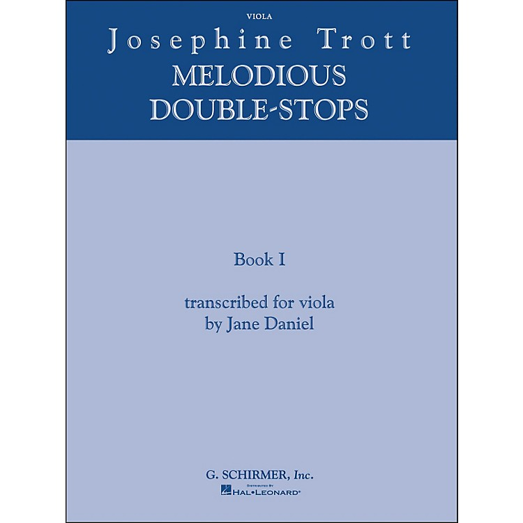 G. SchirmerMelodious Double Stops Book 1 Viola By Trott