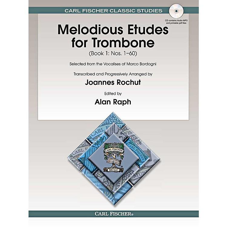 Carl FischerMelodious Etudes for Trombone (Book/Online Audio) - Joannes Rochut, Book 1BOOK 1