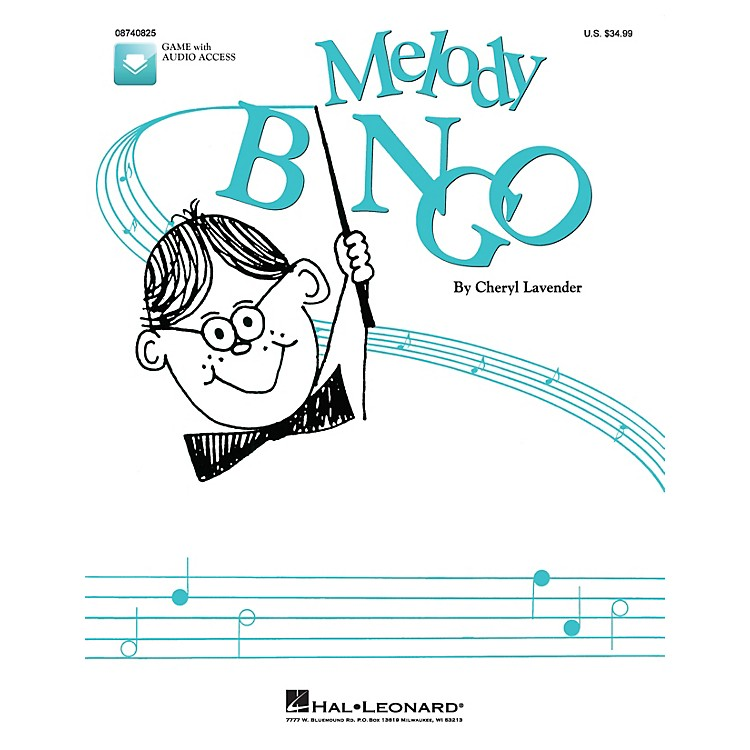 Hal LeonardMelody Bingo (Replacement CD) CD Composed by Cheryl Lavender