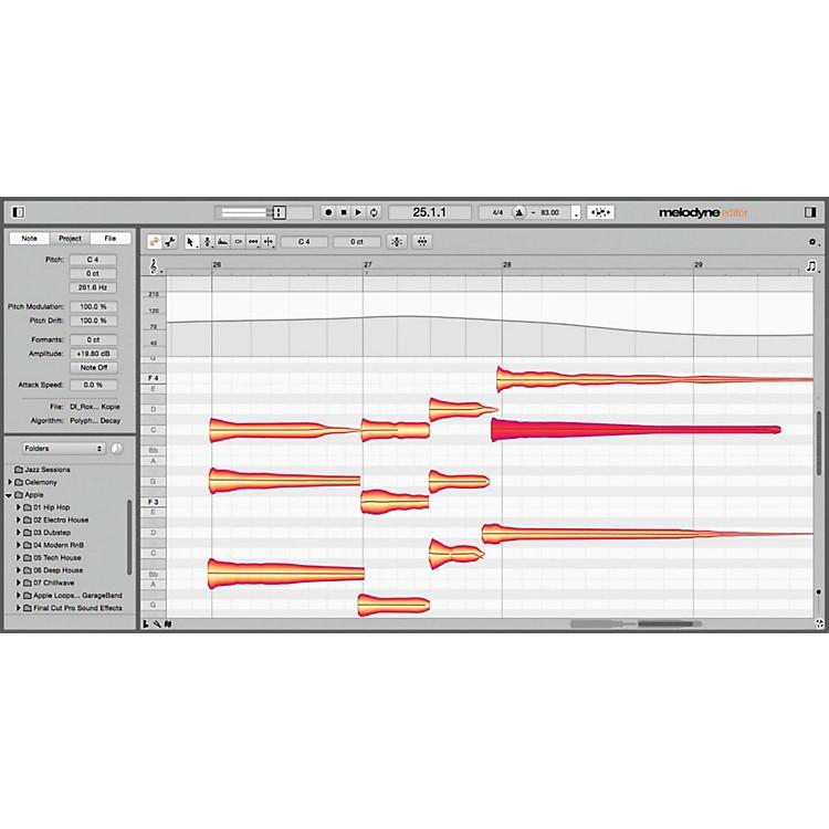 CelemonyMelodyne 4 Editor - Editor Upgrade