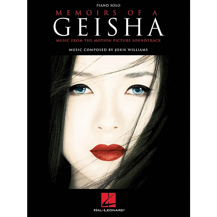 Hal LeonardMemoirs Of A Geisha Piano Solo Music From The Motion Picture Soundtrack