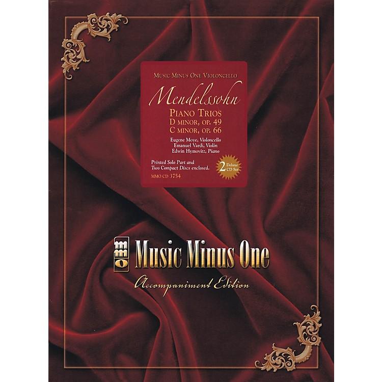 Music Minus OneMendelssohn - Piano Trios: D minor, Op. 49; C mninor, Op. 66 Music Minus One BK/ CD by Mendelssohn