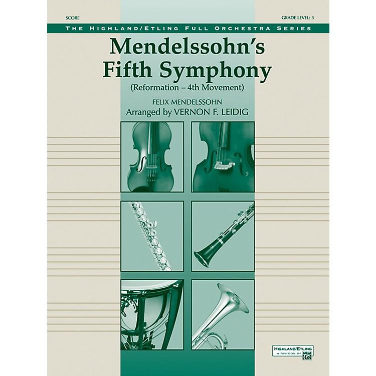 AlfredMendelssohn's 5th Symphony