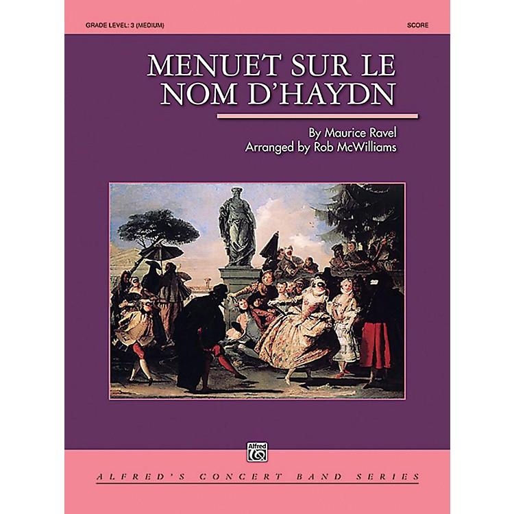 AlfredMenuet sur le nom d'Haydn Concert Band Grade 3 Set
