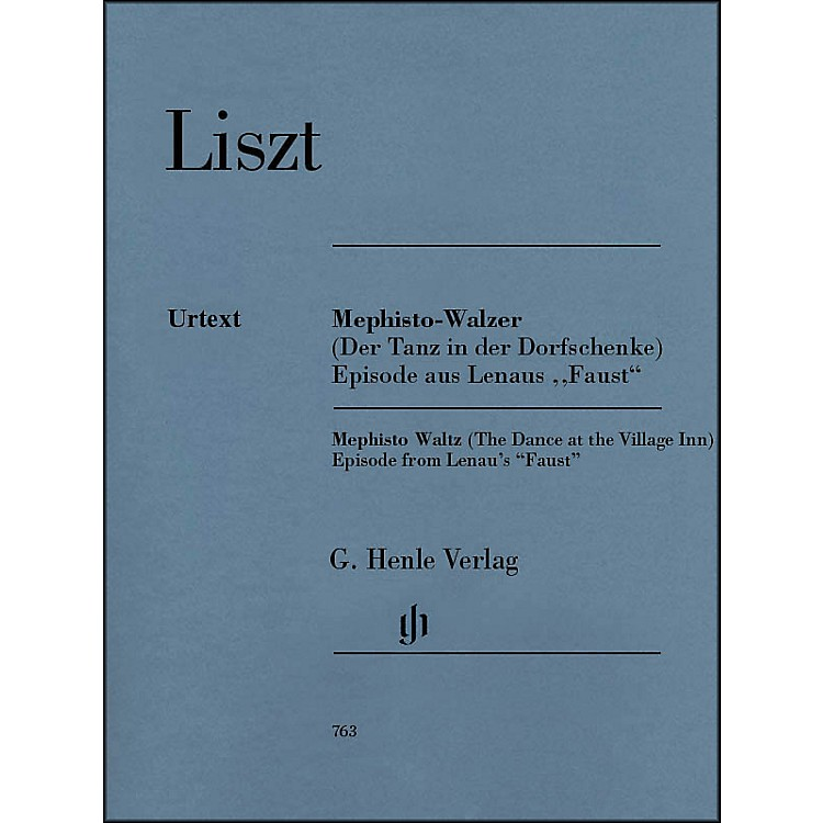 G. Henle Verlag Mephisto Waltz Piano Solo By Liszt