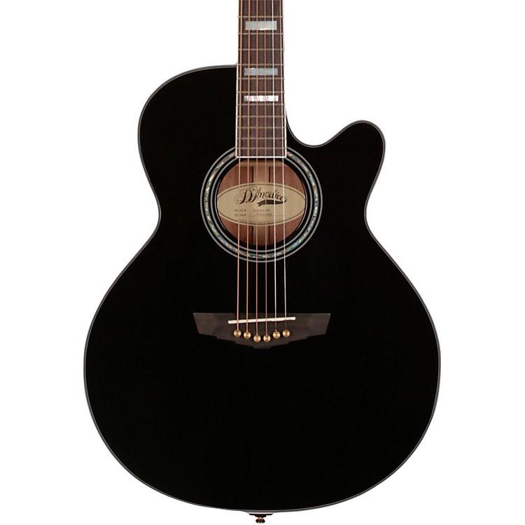 D'AngelicoMercer Grand Auditorium Cutaway Acoustic-Electric GuitarBlack