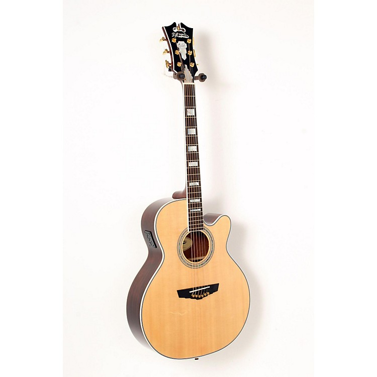 D'Angelico Mercer Grand Auditorium Cutaway Acoustic-Electric Guitar Natural 888365837208