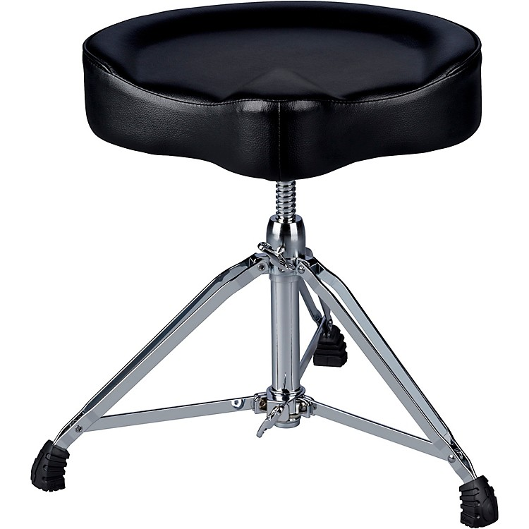 ddrum Mercury Vinyl Top Saddle Throne Black