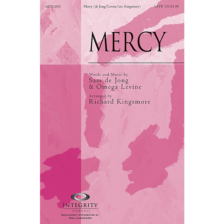 Integrity ChoralMercy CD ACCOMP Arranged by Richard Kingsmore