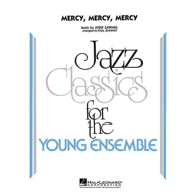 Hal LeonardMercy, Mercy, Mercy - Jazz Ensemble Jazz Band Level 3 Arranged by Jennings