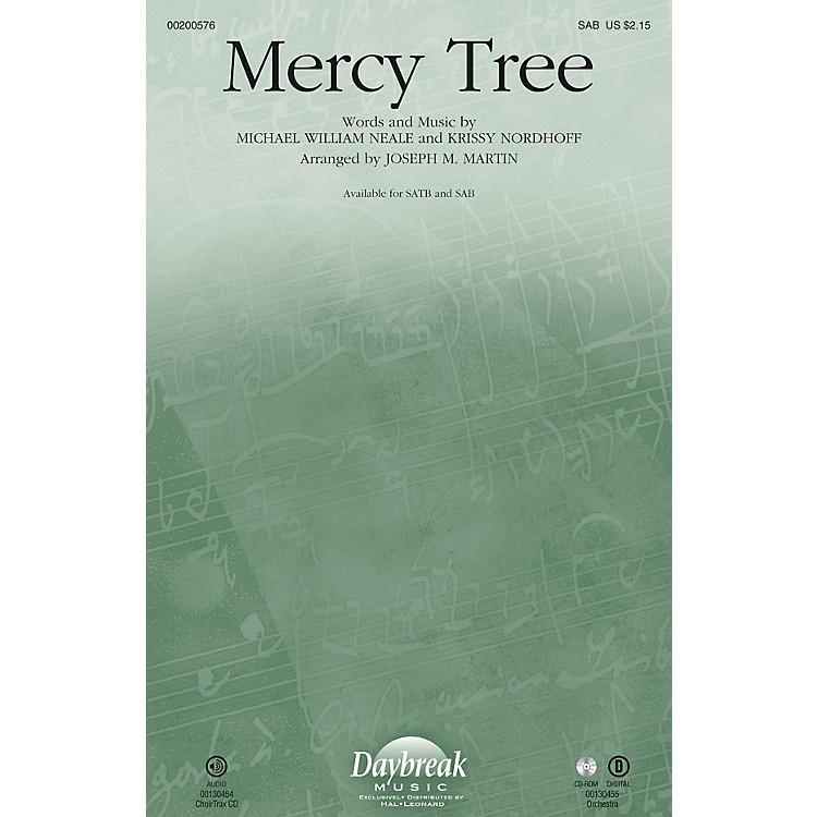 Daybreak MusicMercy Tree SAB by Lacey Sturm arranged by Joseph M. Martin