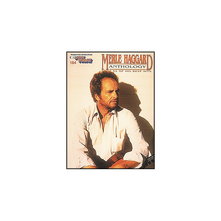Hal Leonard Merle Haggard Anthology E-Z Play 184