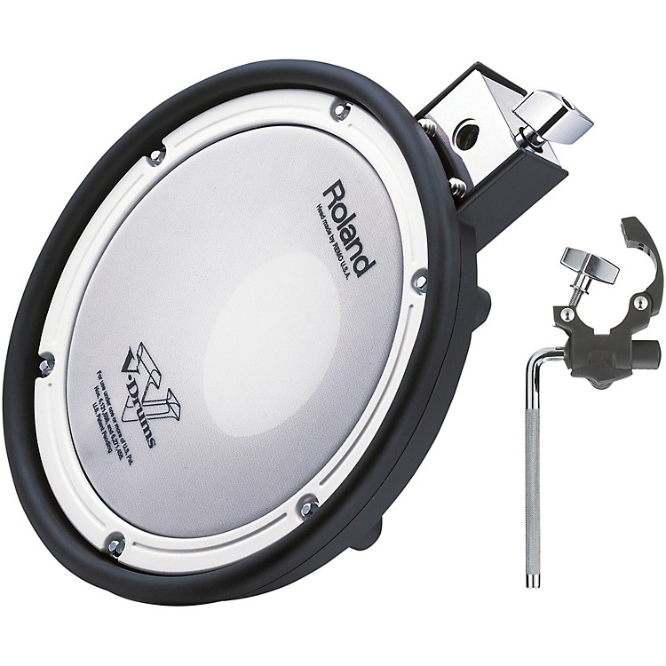 RolandMesh-Head Percussion Pack - Add on Mesh Head Pad with Mount