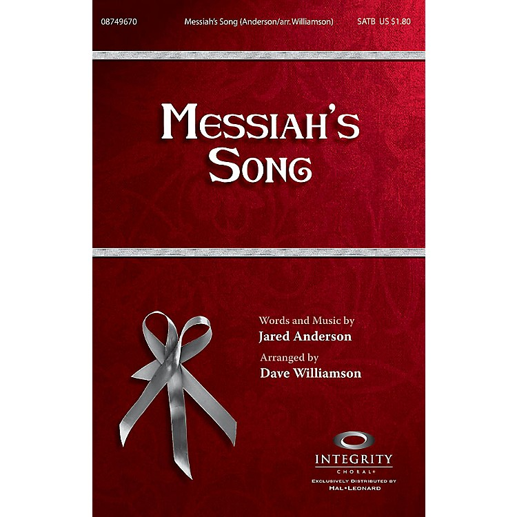 Integrity ChoralMessiah's Song CD ACCOMP Arranged by Dave Williamson
