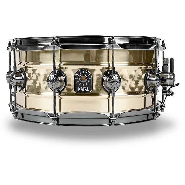 Natal DrumsMeta Beaded Hand Hammered Snare14 x 6.5 in.Brass